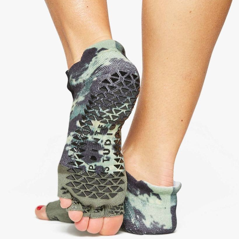 Pointe Studio Combat Toeless Grip Sock - Camo