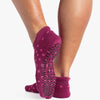Pointe Studio Lynn Grip Sock Maroon
