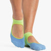 Pointe Studio Nina Grip Strap Green Blue