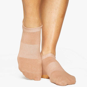 pointe studio grip sock union toast