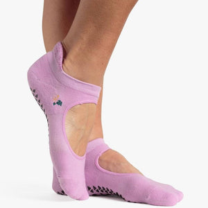 Pointe Studio Skye Grip Strap Sock Purple