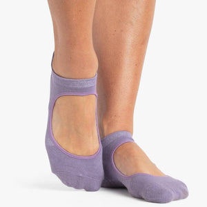 pointe studio Josie Grip Socks purple