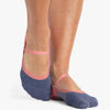 Piper Dance Grip Sock Coral