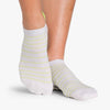 Pointe Studio Donna Grip Sock Oatmeal Green