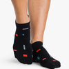 Pointe Studio Slate Grip Sock Black Teal