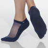 shashi classic regular toe navy grip sock