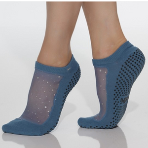 Shashi Star Grip Sock Riverside Blue