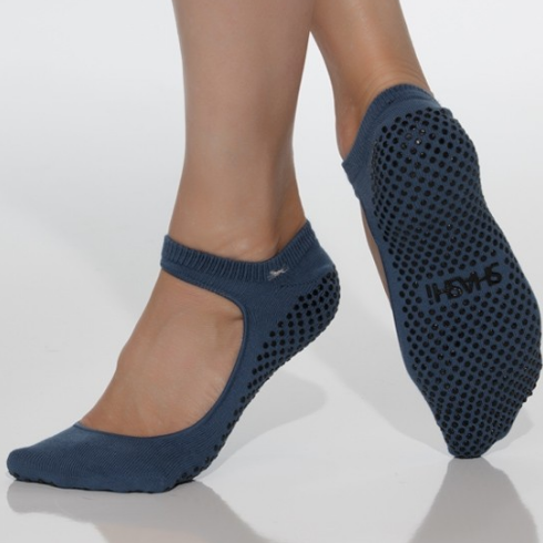 shashi sweet navy psychadelic grip socks