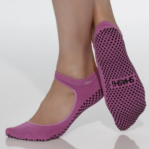 shashi sweet orchid pink grip socks