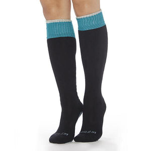 sticky be be present knee high grip socks