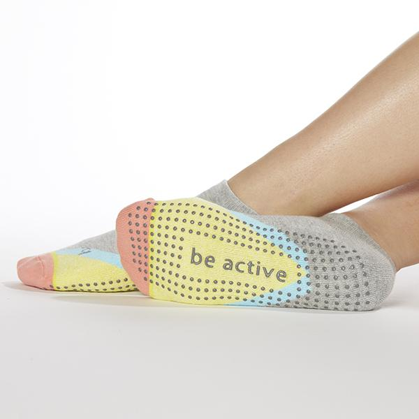 Sticky Be Be Active Delilah Sorbet Grip Socks