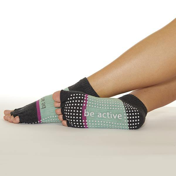 Sticky Be Half Toe Grip Sock Be Active Grace Jasmine