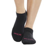 Sticky Be Be Brave Grip Socks Black Pink
