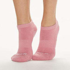 Sticky Be Be Great - Blush White Grip Socks