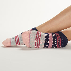 Sticky Be Be Great Mia Sunset Grip Socks