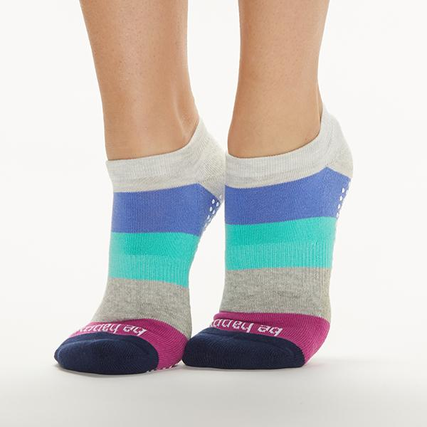 Sticky Be Be Happy Grip Socks Hibiscus