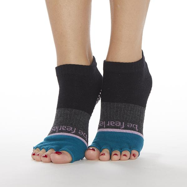 sticky Be Be Fearless Elle - Capri Half Toe Grip Socks