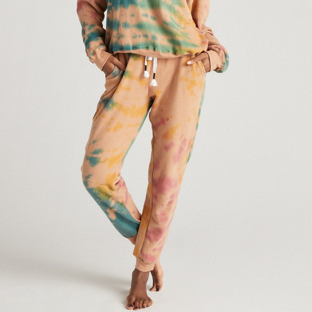 Strut This Frenchie Jogger - Java Paint