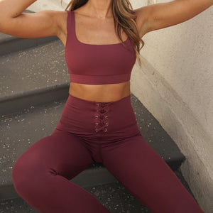 Strut This McGuire Ankle Leggings - Pinot