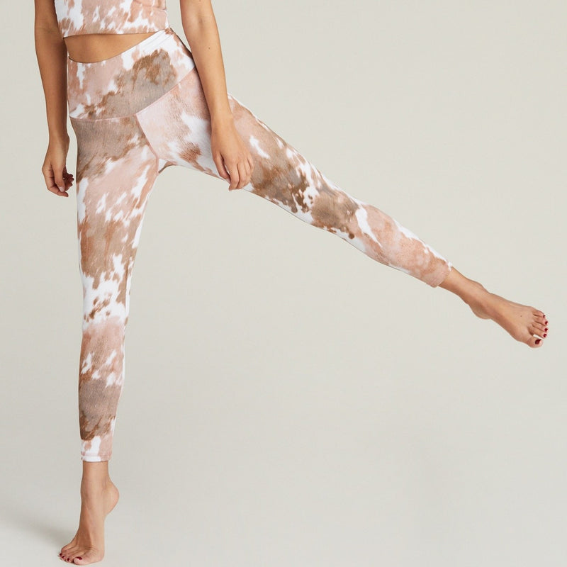 Strut This Cowhide Teagan 7/8 Ankle Leggings