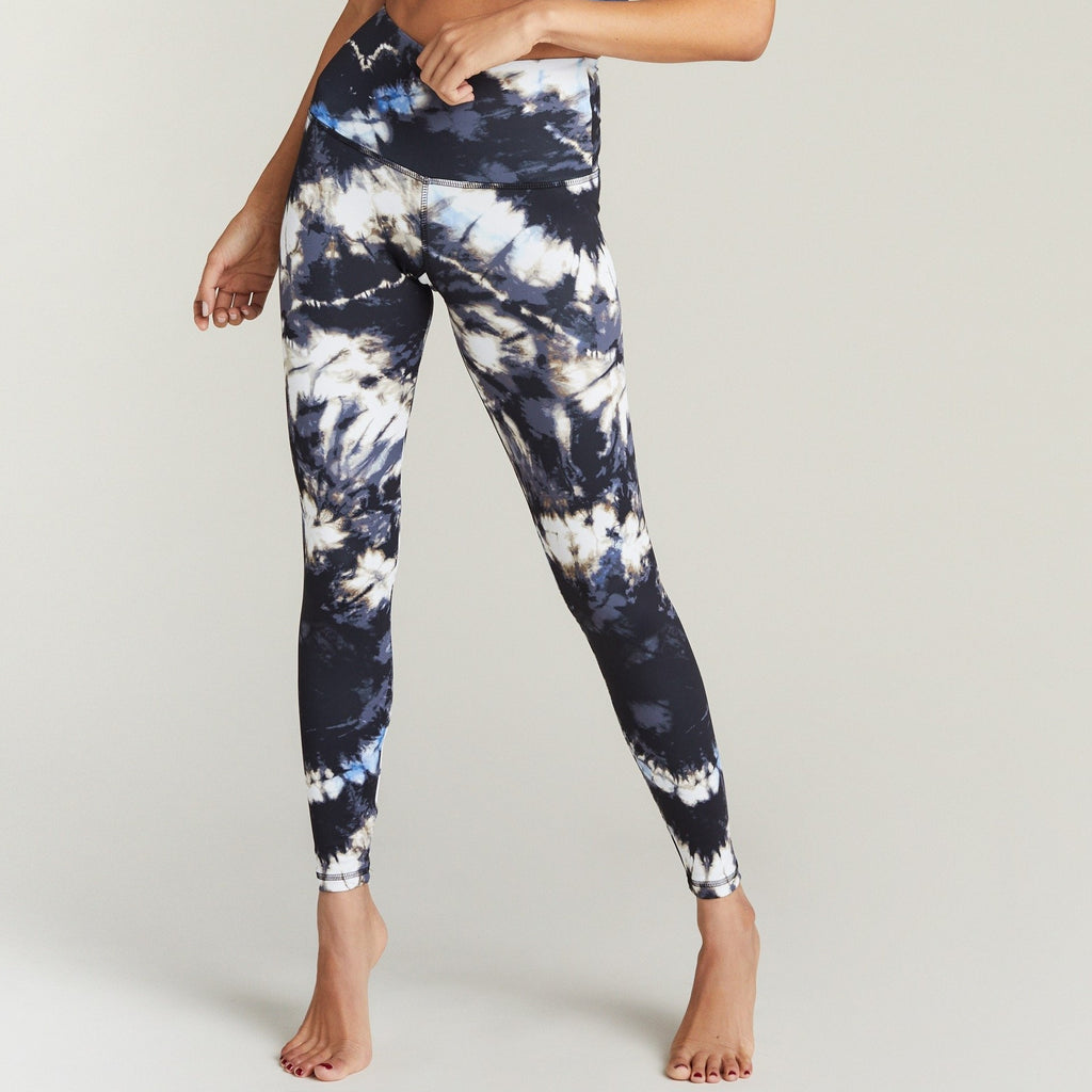 Strut This Deep Sea Teagan Ankle Legging