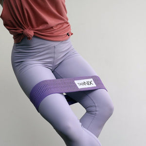 "Tabinix 13"" Lean Queen Booty Band Set - Wine & Lilac"