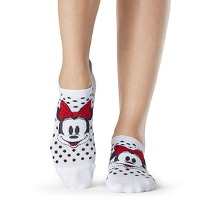Tavi Noir Disney Savvy Polka Dot Minnie Grip Sock