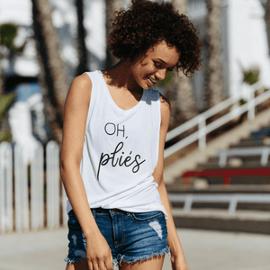 simplyworkout barre Oh Plies - Muscle Tank