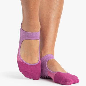 Pointe Studio Tess Grip Sock Pink Lilac