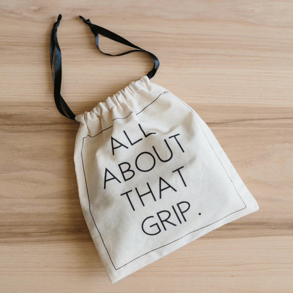 Barre Sock Bag - Deluxe - All About That Grip