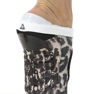 Arebesk Leopard Grip Socks (Barre / Pilates)