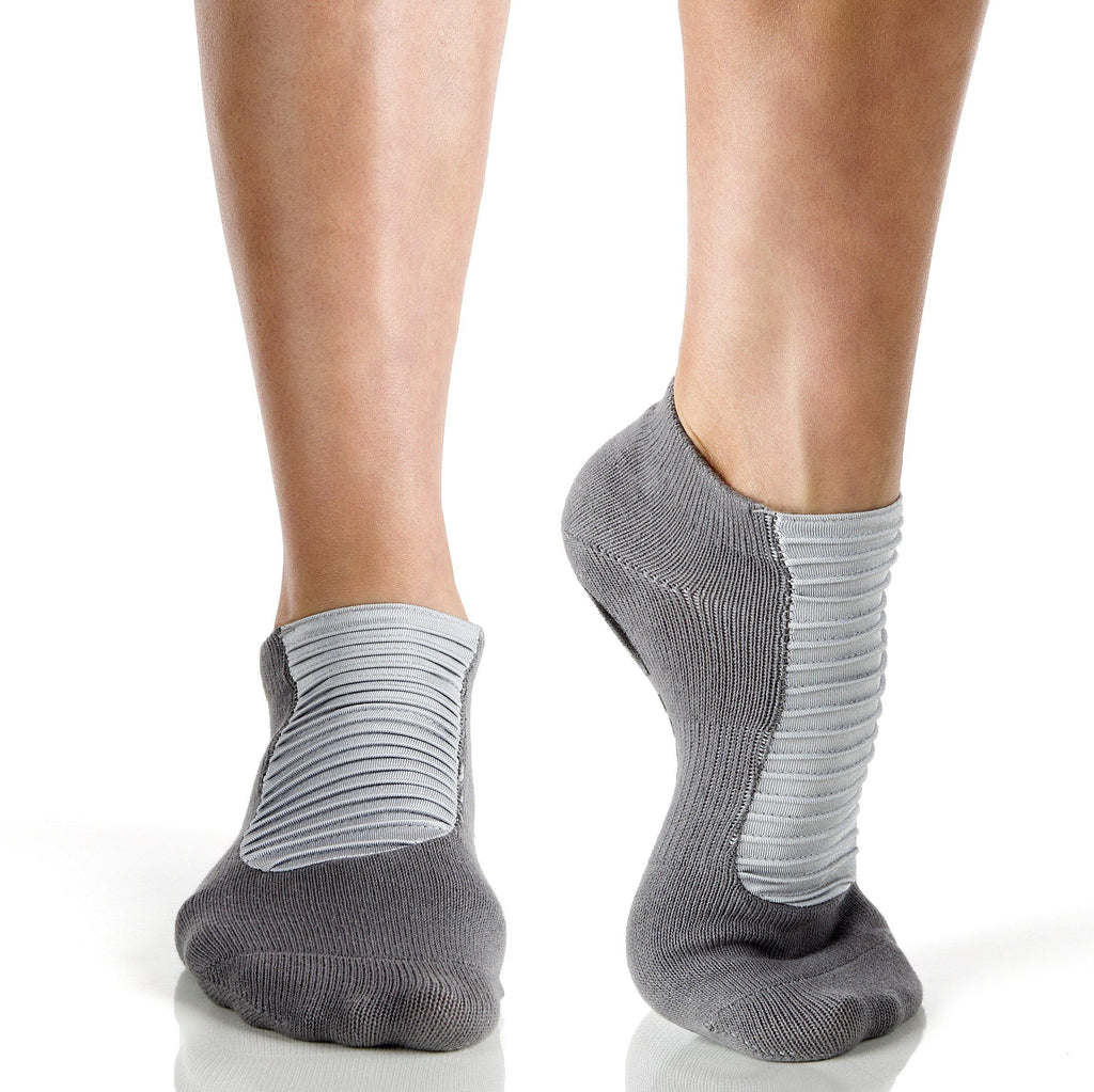 Arebesk Moto Grip Socks - Grey (Barre / Pilates)