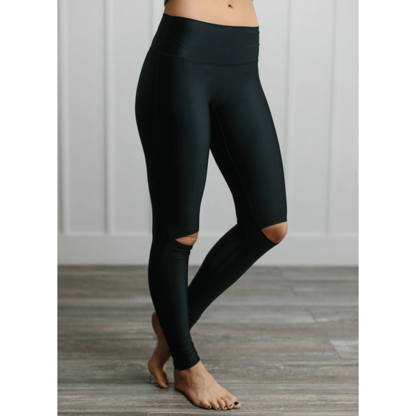 Betshe Aria Cut-Out Knee Leggings