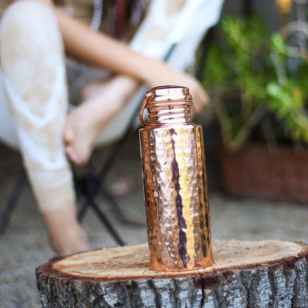 Hammered - Single Wall Bottle 20 oz.