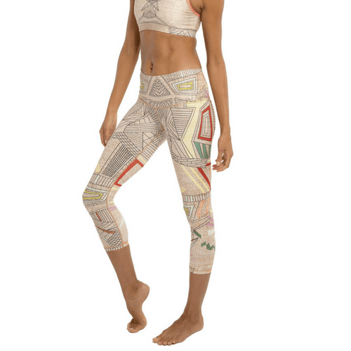 Beachcomber Leggings - Aztec