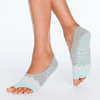ballet barre socks grey ash