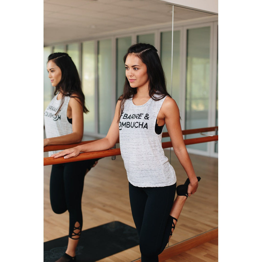 Barre and Kombucha - Muscle Tank - simplyWORKOUT