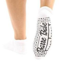Barre Babe Grip Socks (Barre / Pilates) - BarreSocks.