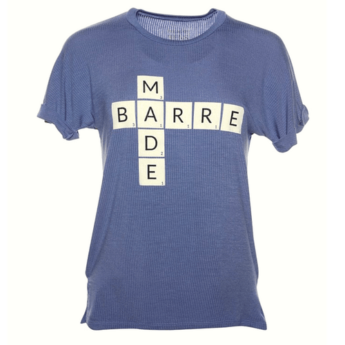 Barre Made Scrabble Tee