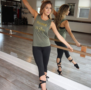Barre Over Everything - Muscle Tank