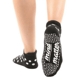 Mind Over Matter Black Dot Grip Socks (Barre / Pilates)