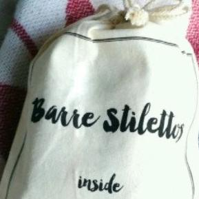 Barre Sock Bag - Barre Stilettos Inside - simplyWORKOUT