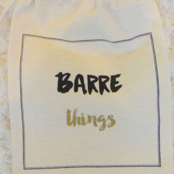 Barre Sock Bag - Barre Things - simplyWORKOUT