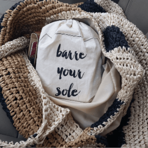 Barre Sock Bag - Barre Your Sole