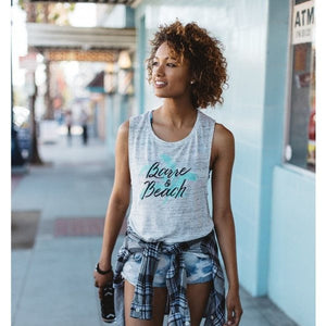 Barre and Beach Muscle Tank - simplyWORKOUT