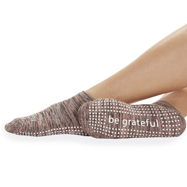 Be Grateful - Mesa Grip Socks (Barre / Pilates)