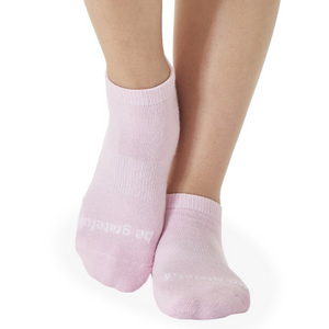 sticky be grip socks Be Grateful - Petal Grip Socks