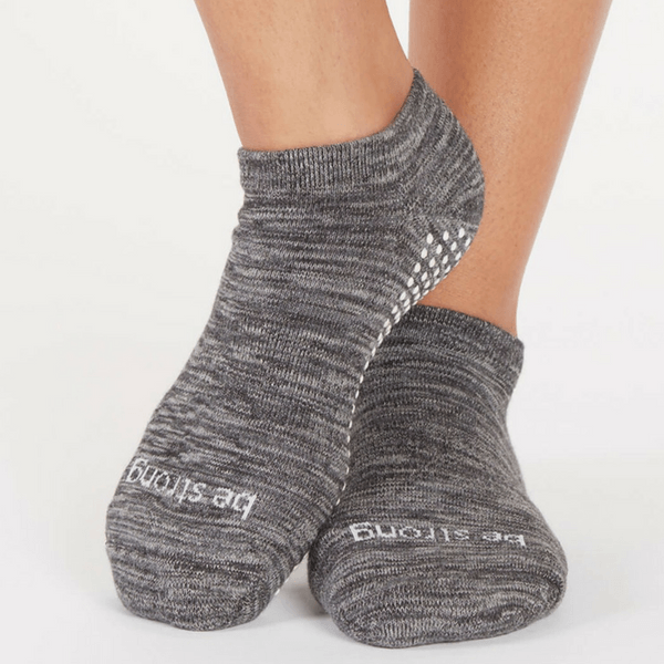 Grip Socks - Be Strong - Marbled (Barre / Pilates)