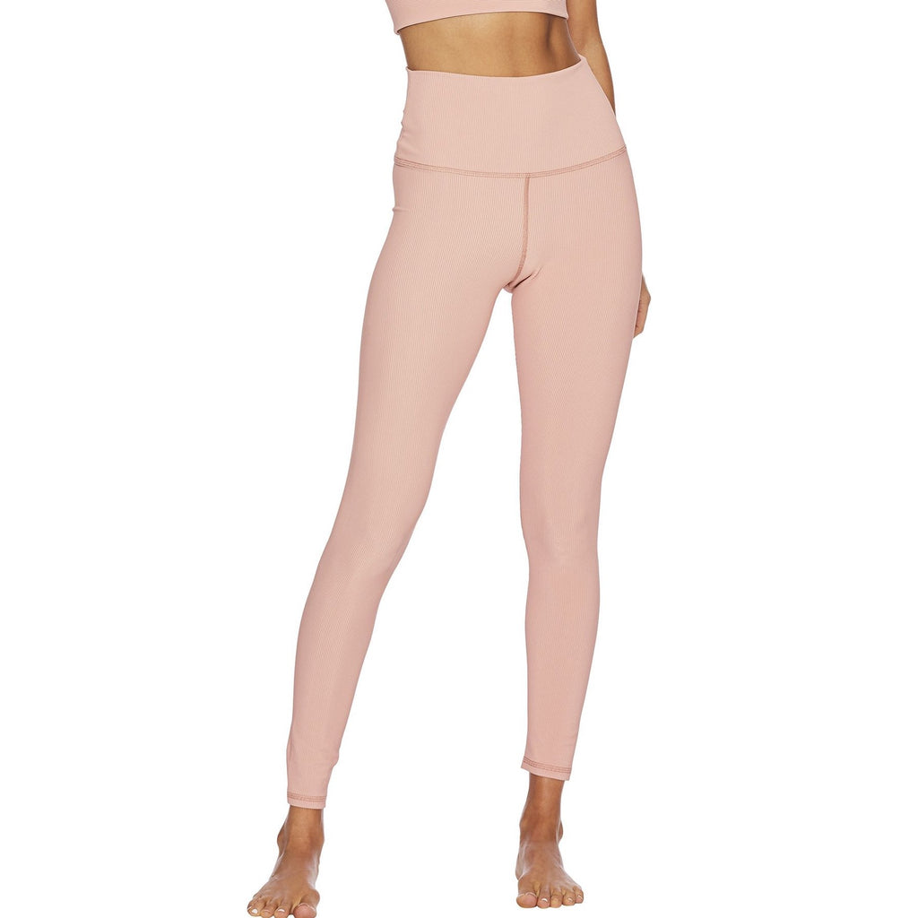 beach riot ayla legging pink ribbed
