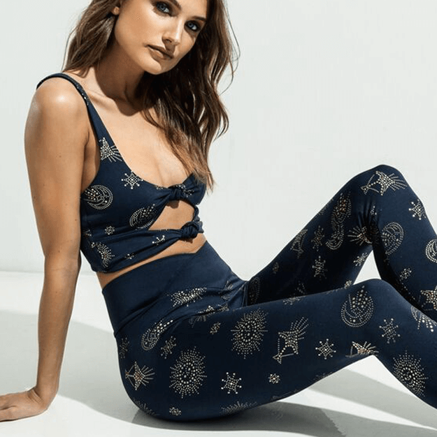 Cara Leggings - Navy